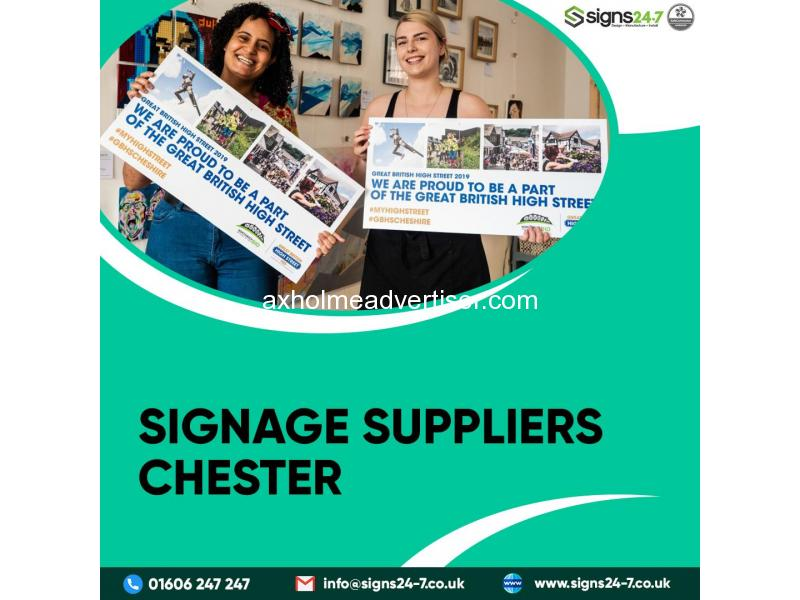 Signage Suppliers Chester