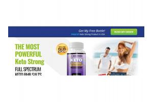 KETO STRONG: PURE BHB KETOGENIC WEIGHT LOSS PILLS INGREDIENTS, PRICE!