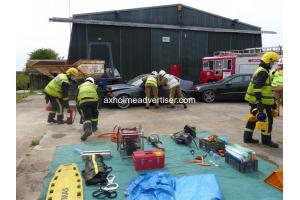 Sandtoft Airfield 999 Emergency Services Day